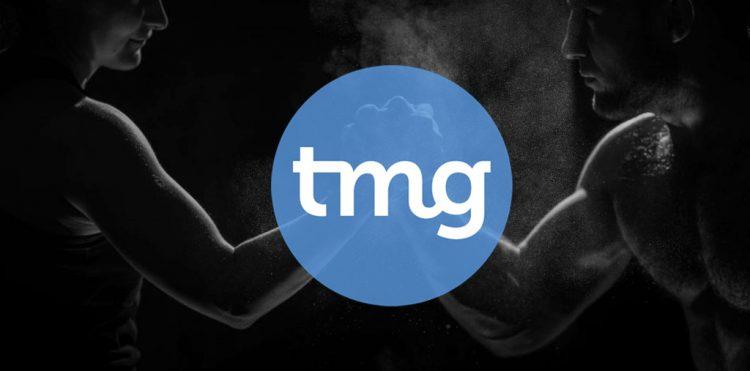 Logo Telegraaf Media Groep